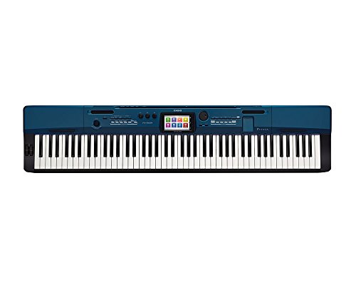 Casio PX560BE 88-Key Digital Stage Piano, Blue, Digital Piano