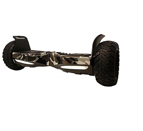 Vecaro TREK-X-CMGR 8.5' Hoverboard With Bluetooth/App/Off-Road Wheels - UL 2272 Certified Camoflauge