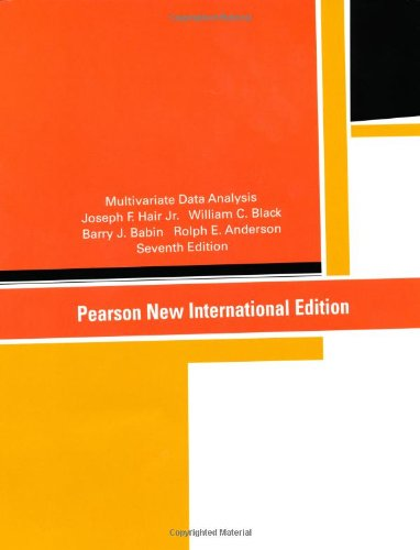 Multivariate Data Analysis: Pearson New International Edition