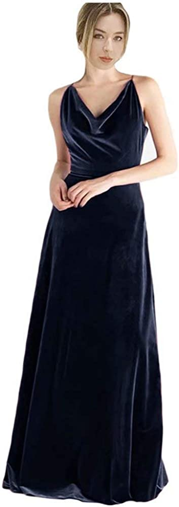 ElenaDressy Velvet Bridesmaid Dresses Columbus Mall for Party Max 65% OFF Sheath F Wedding