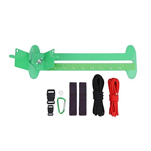 ROSEBEAR Kits de Trenzado Pulsera de Paracord Ajustable Plantilla de Tejido para Pulseras Cinturones Llaveros