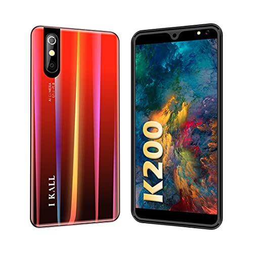 I KALL K200 4G Smartphone (2GB, 16GB), Red