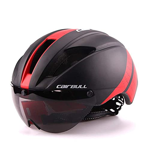 Casco de Bicicleta, Cascos de Ciclismo Totalmente formados para Bicicleta de Carretera de montaña, Casco Transpirable Ligero de Seguridad para Montar, Cómodo, Seguridad, C