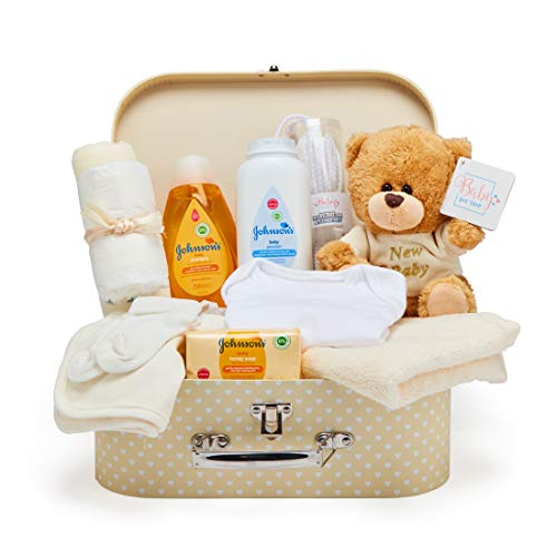 Baby Box Shop - Cesta regalo bebé para baby shower con todo...