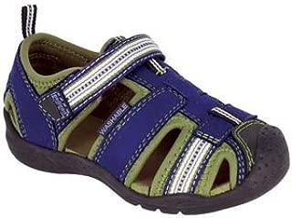 pediped Flex Sahara Sandal (Toddler/Little Kid),Blue,22 EU (6-6.5 M US Toddler)