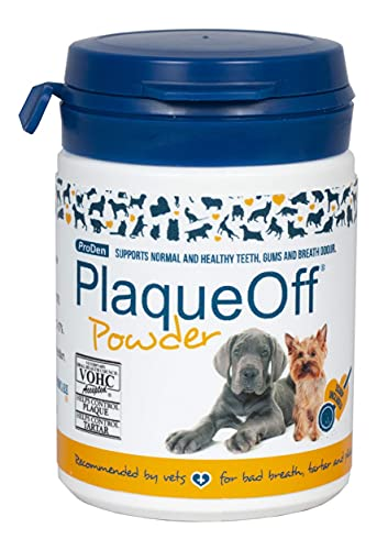 ProDen PlaqueOff Powder – Supports Normal, Healthy Teeth, Gums, and Breath Odor in Pets – 60 g
