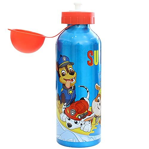 SKYLINE Cantimplora Infantil 500 ML, Botella Aluminio para Niños, Térmica, Con Tapa Hermética, Sin BPA, Para Llevar a la Escuela, Parque, Deportes etc