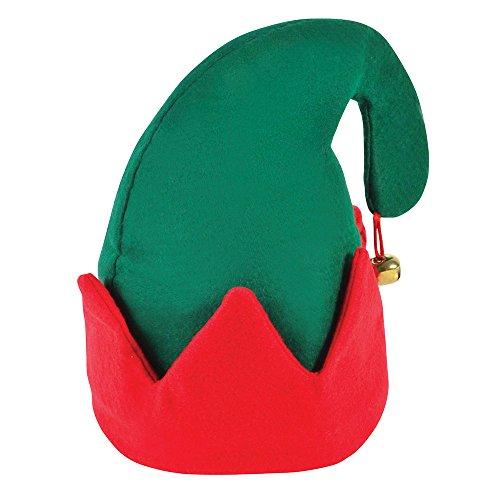 Bristol novità BH184'Jingle Bell elfo, cappello, multicolore, taglia unica