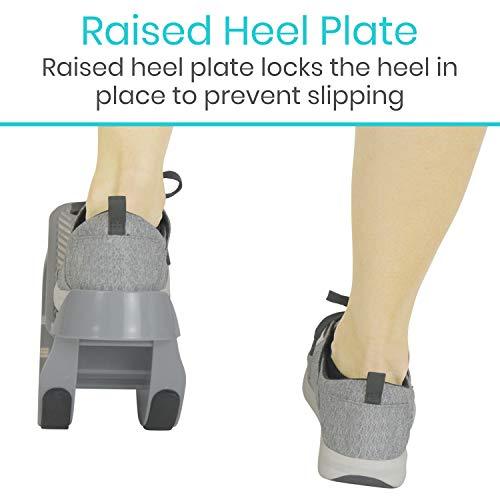 Vive Foot Rocker - Calf Stretcher for Achilles Tendinitis, Heel, Feet, Shin Splint, Plantar Fasciitis Pain Relief - Stretches Strained Leg Muscle - Ankle Wedge Stretch Improves Flexibility