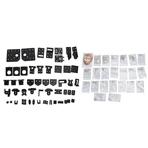 Kit De Máquina De 3 Ejes Para Impresora, Impresora 3D Kit De Enrutador CNC Alta Eficiencia Para Impresora Piezas Para Impresión Accesorios Para Impresora Inteligente Para Impresora