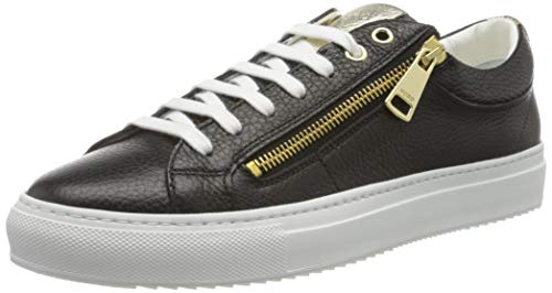 HUGO Damen Hoxton Low Cut-MGR 10195704 01 Sneaker, Schwarz (Black 001), 38 EU