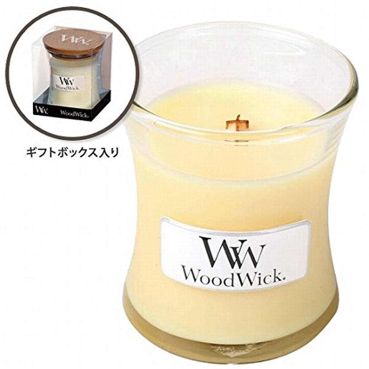 強化する七時半送ったウッドウィック( WoodWick ) Wood WickジャーS 「レモングラス&リリー」
