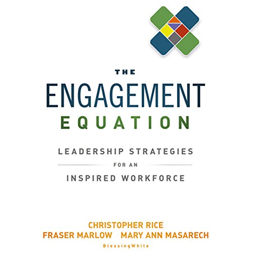 The Engagement Equation audiobook cover art