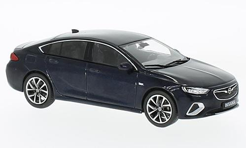 Opel Insignia B Grand Sport, metallic-dunkelblau, 2017, Modellauto, Fertigmodell, I-iScale 1:43