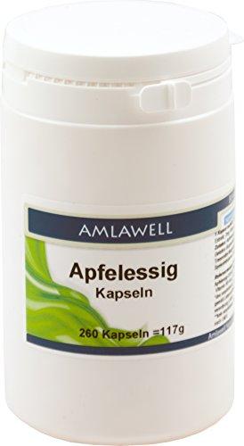 Amlawell Apfelessig Kapseln, 260 Kapseln
