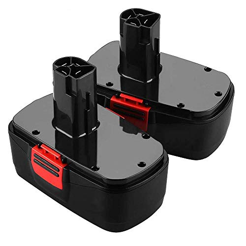 2Pack 19.2 Volt 3.6Ah Battery for Craftsman C3 DieHard Ni-MH Replacement 130279005 130279003 130279017 315.113753 315.115410 315.11485 1323903 1323517 11375 11376 Cordless Tools