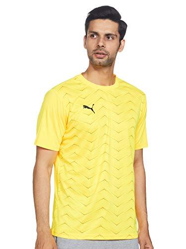 Puma Ftblnxt Graphic Shirt Core T-Shirt Homme Ultra Yellow/Puma Black FR : 2XL (Taille Fabricant : XXL)