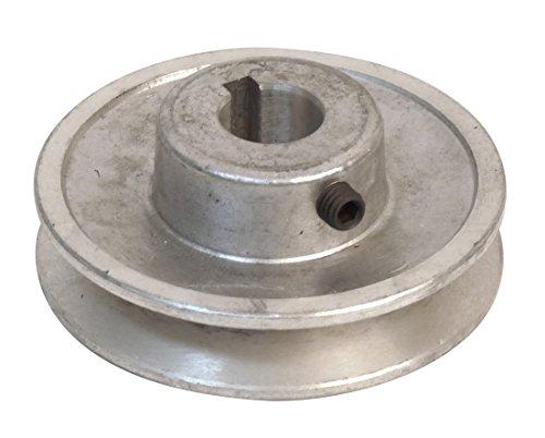Fartools 117240 - Polea (aluminio, 80 mm, calibre: 19 mm)