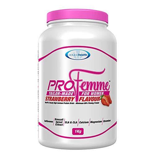 Profemme Strawberry Flavour Protein Powder 1 KG