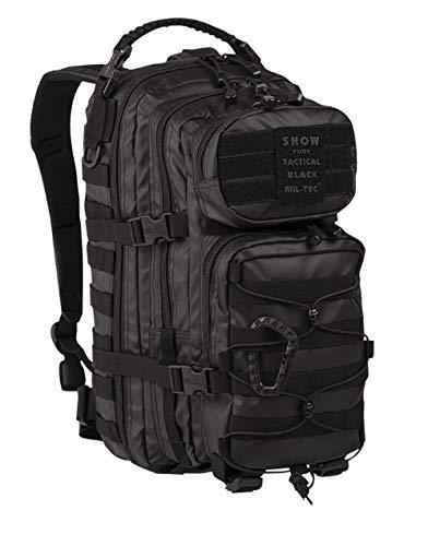 Sac Militaire Pack US Tactical Black Imperméable - Petit modèle