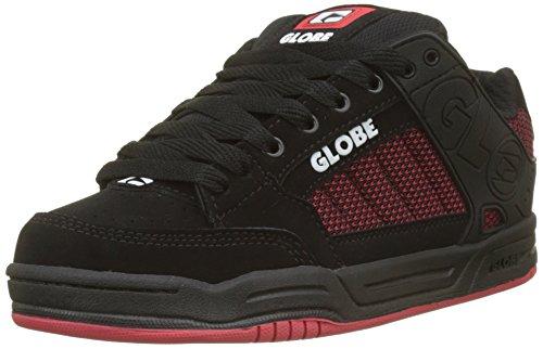 Globe Tilt, Scarpe da Skateboard Uomo, Multicolore (Black/Red/Knit 000), 42 EU