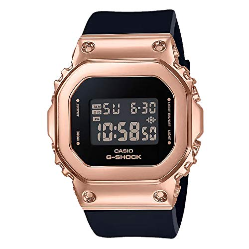 Casio G-Shock By Women's GMS5600PG-1 Digital Watch Rose Gold/Black