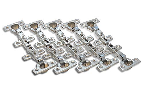 10x Stück Topfband Eckanschlag 26mm Scharnier Topfscharniere Federscharnier
