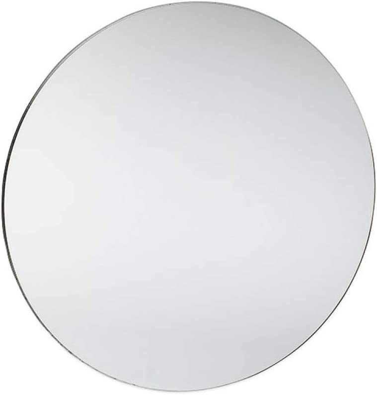 SOURCEONE.ORG Shatter Max 68% OFF Proof Round Acrylic Centerpiece Mirrors Cheap SALE Start