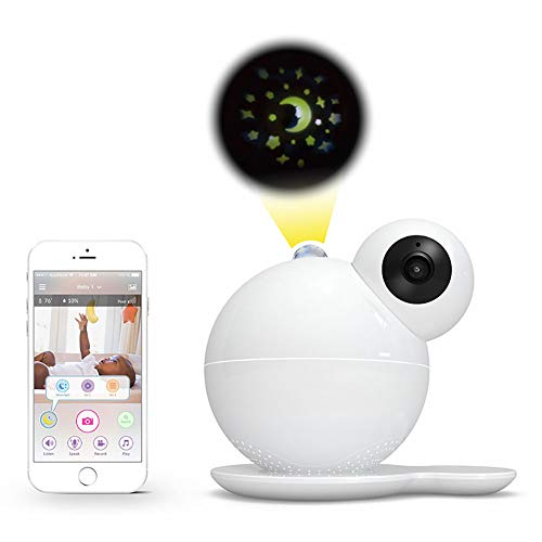 Baby Monitor with Camera Video Wireless Remote WiFi HD 1080P Primary and Secondary Account Suitable for Monitoring Infant Safety