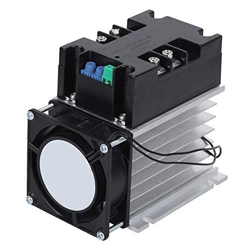 Controlador eléctrico de arranque suave, arranque inferior bifásico simple de aluminio para motor(with Heat Sink)