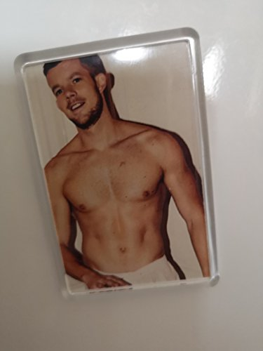 Fun Designs Online Russell Tovey imán para Nevera, tamaño Agradable, 70 x 45 mm