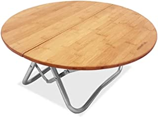 Camping Table Outdoor Folding Table Portable Compact Small Round Table Perfect for The Beach, Camping, Picnics, Cookouts a...