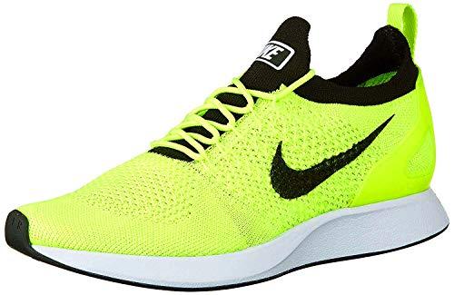 Nike Men's Air Zoom Mariah Flyknit Racer Running Shoes-Volt/White/Sequoia-13