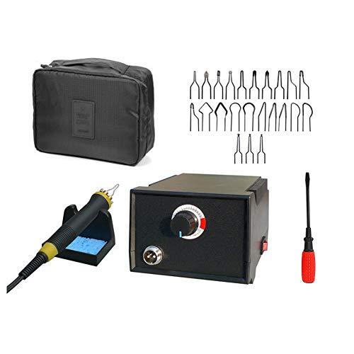 Afantti Wood Burning Pen Tool Kit Set Professional Pyrography Machine Electric Woodburning Leather Burner | 23 Tips | Carry Case | for Adult Starter Beginner Craft