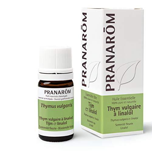 Pranarom - Tomillo Común QT Linalol 5 ml - Aceite Esencial Natural