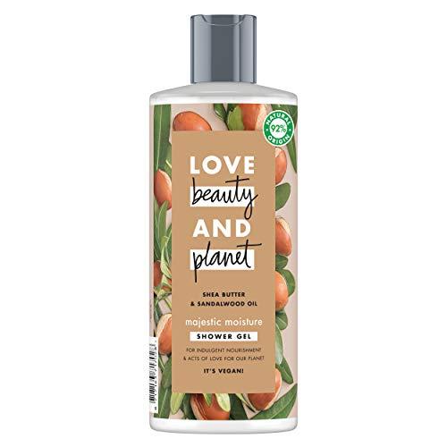 Love Beauty and Planet Majestic Moisture Gel manteca de karité y sándalo 500ml