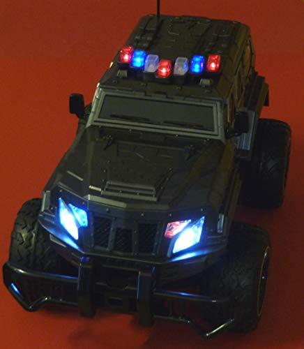 RC Auto kaufen Monstertruck Bild 3: RC Jeep SWAT POLICE mit LICHT & AKKU 1:12 Länge 39cm Ferngesteuert 27MHz*