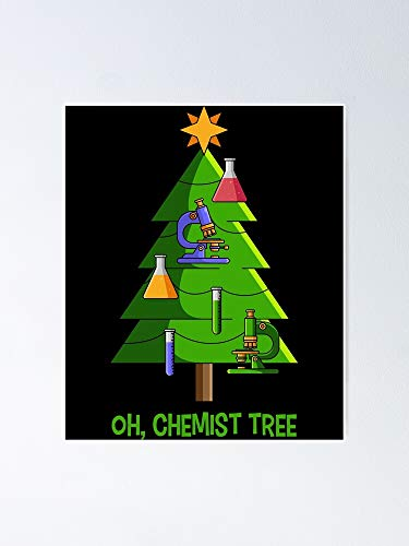 Situen Oh Chemist - Póster de árbol para decoración de sala de juegos, imprimibles para niños, arte de pared de guardería, decoración de habitación imprimible.