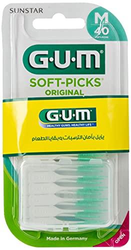 Gum Soft-Picks Interdentalbürsten, 40 Stück, regular