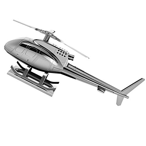 Decoración para automóviles con perfume de helicóptero, rotación solar, aleación de zinc de alta calidad, con tres fragancias sólidas, ambientador interior del vehículo con fragancia segura no tóxica