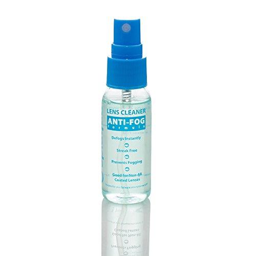 Anti Fog Spray Eyeglass Lens Cleaner, Long Lasting Defogger for Glasses, Goggles, Ski Masks Mirrors and Windows (1 Pack)