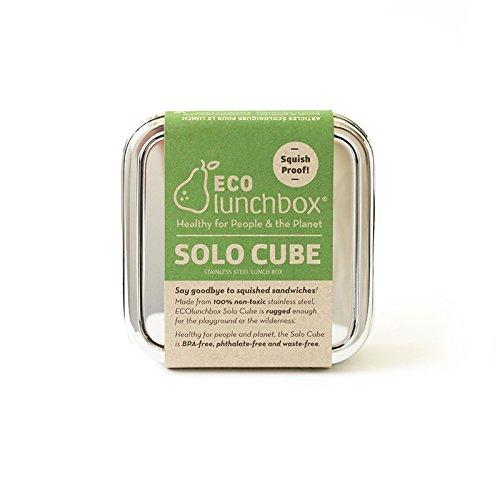 ECOlunchbox Brotdose aus Edelstahl, Solo Cube | Lunchbox | Bento Box