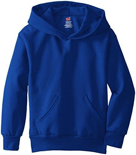 Hanes Boys Eco Smart Fleece Pullover Hood
