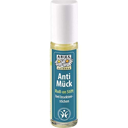 ARIES Anti Mück Roll-on Mückenstift 10ml, Bio Qualität