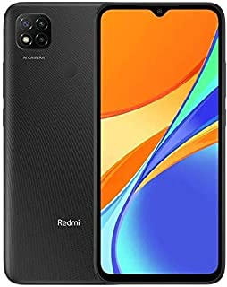 Redmi 9C Dual SIM, 64GB, 3G RAM, 4G LTE, Midnight Gray