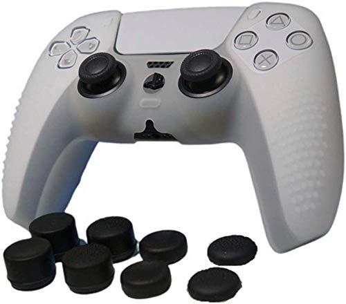 Ninguno / Marca Funda de silicona Piel antideslizante para controlador PS5 X...
