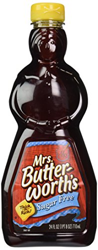 Mrs Butterworth#039s Sugar Free Syrup 24Ounce Pack of 4