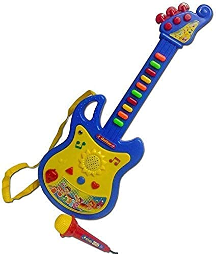 Gopinath creation Musical Guitar Acoustic Guitar Musical Instrument Learning Toy for Kids Multi Color