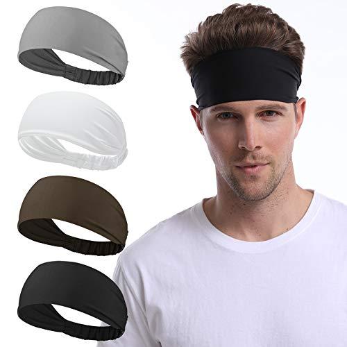 Yoga Sweat Band /& Mens Headband Mesh Design Non Slip Stretchy Moisture Wicking Breathable Workout Sweatbands for Running BF BAFLY Headbands for Men Women Gym Cycling
