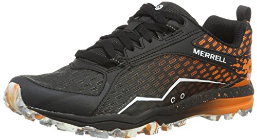 Merrell All Out Crush Tough Mudder Women's Trail Running Shoes - SS17-7 - Black